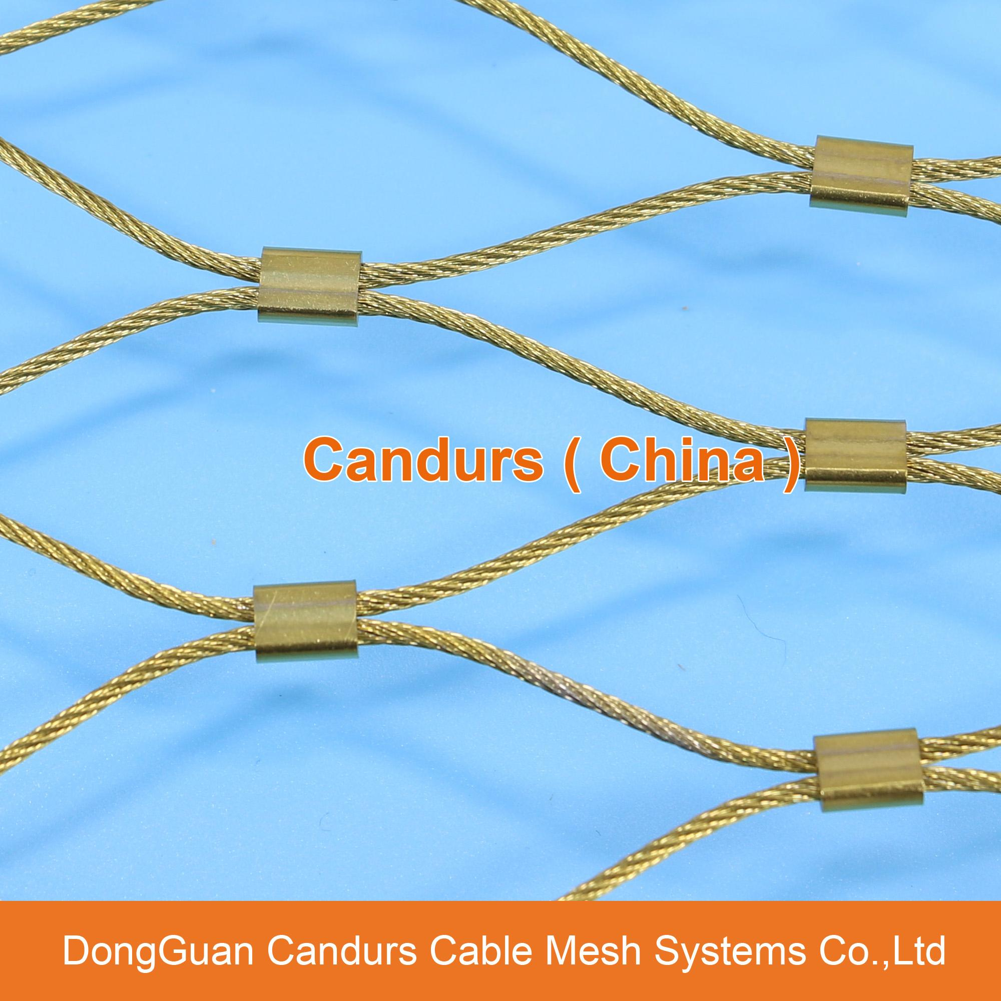 flexible inox cable net decorrope candurs china. Black Bedroom Furniture Sets. Home Design Ideas