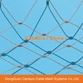 不锈钢丝绳动物园围栏网 17