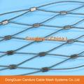 不锈钢丝绳动物园围栏网 19