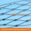 Stainless Steel Ferruled Zoo Wire Mesh