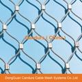不锈钢丝绳动物园围栏网 20