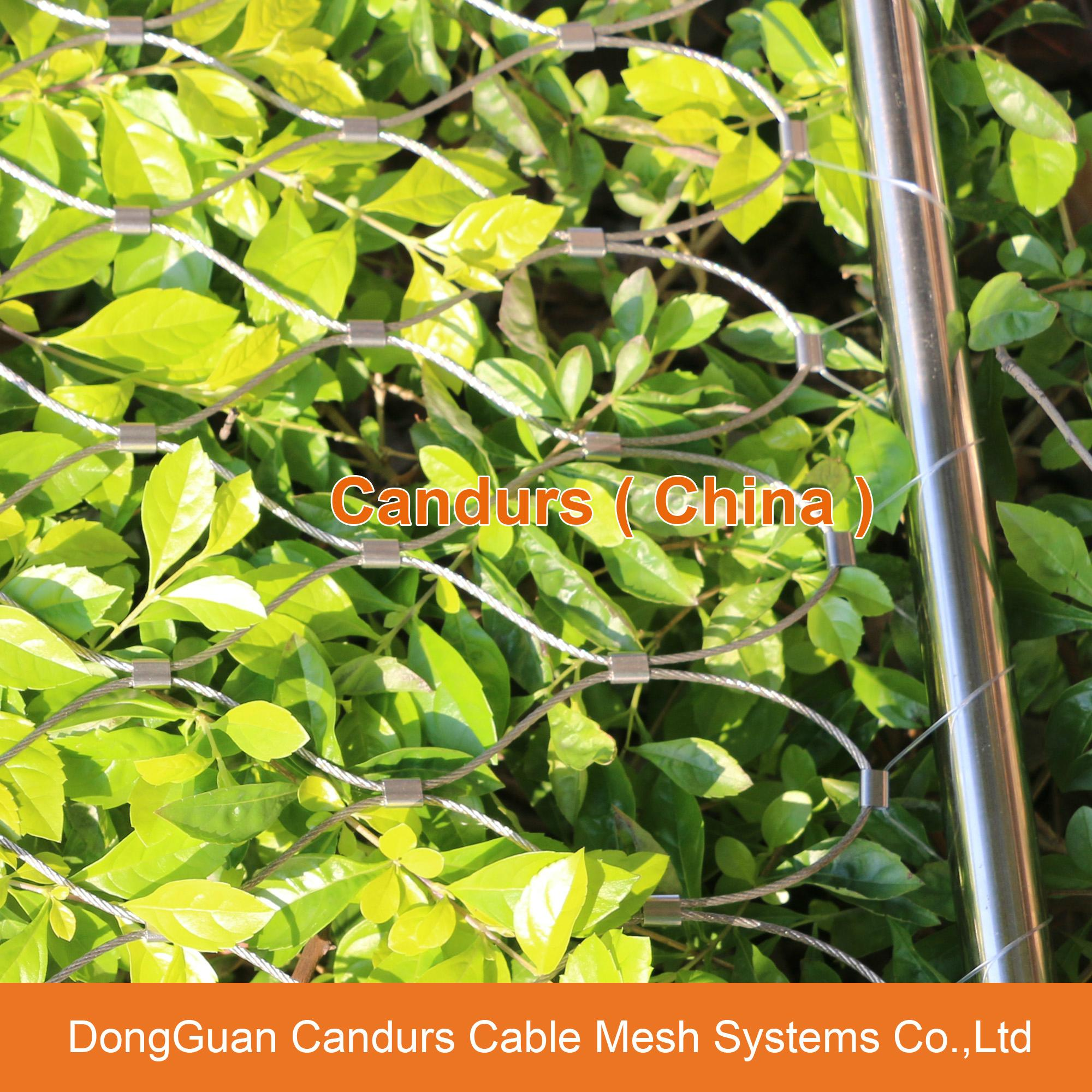 Flexible Stainless Steel Cable Mesh 20