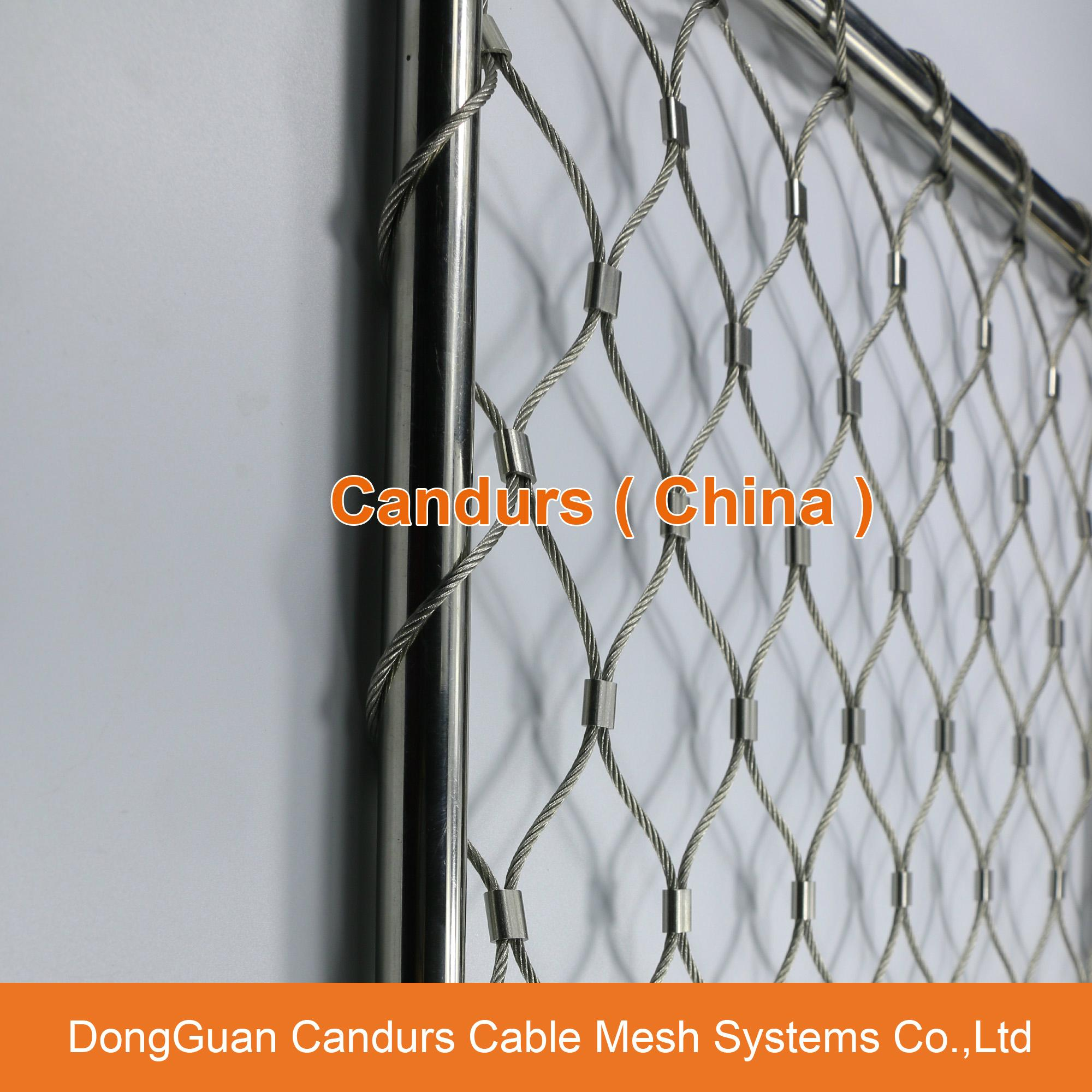 Flexible Stainless Steel Wire Rope Mesh Net 15