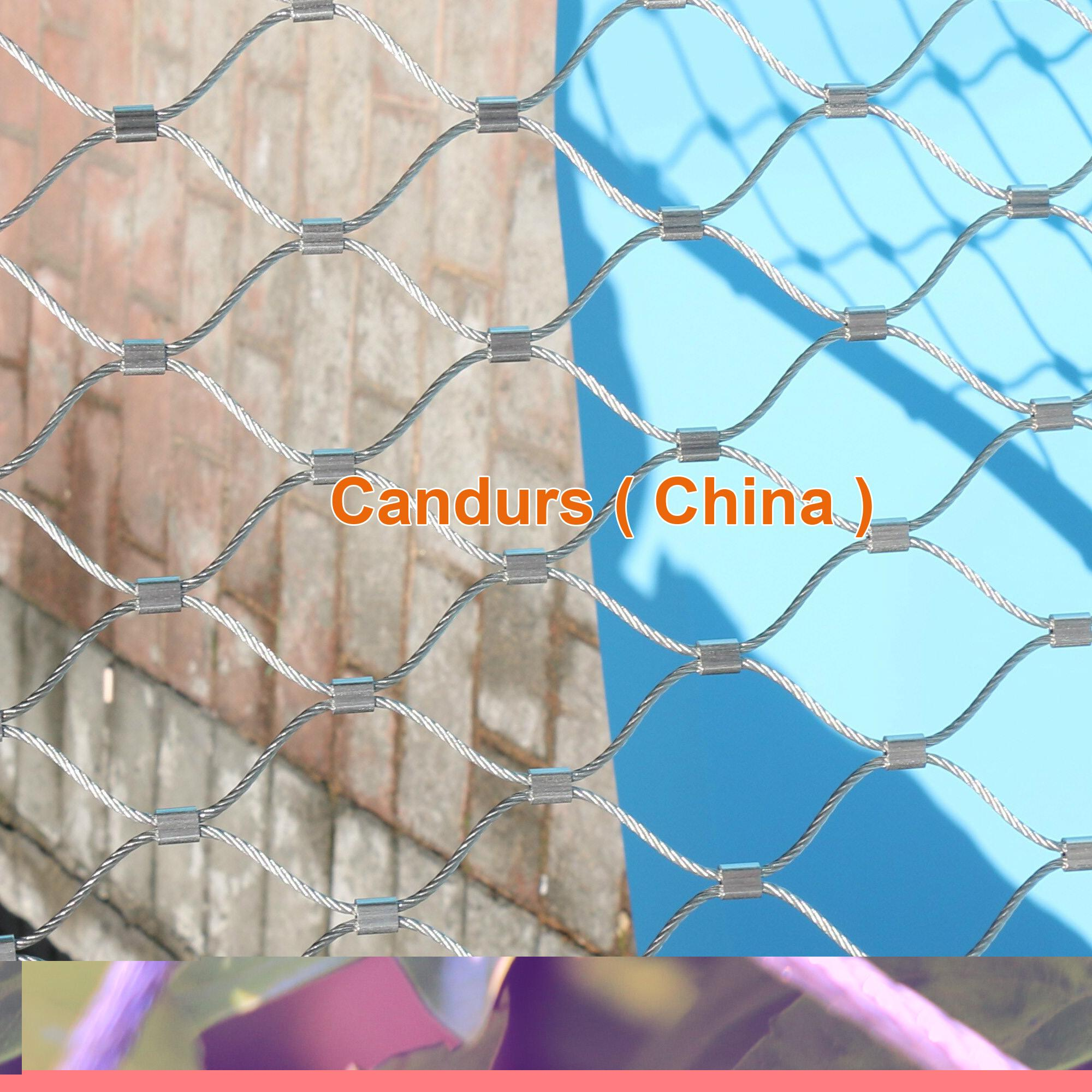 Flexible Stainless Steel Wire Rope Mesh Net 16