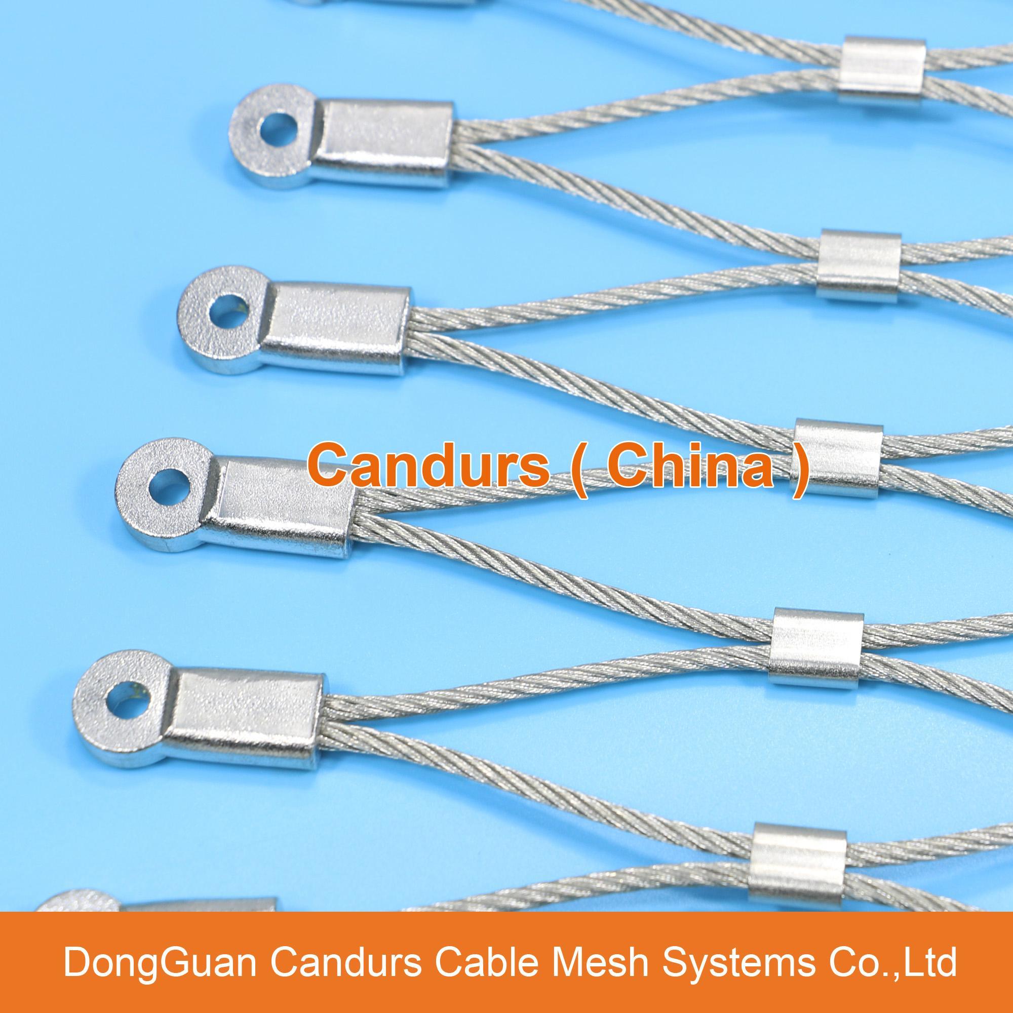 昌達不鏽鋼絲繩網——美標316不鏽鋼繩網 20