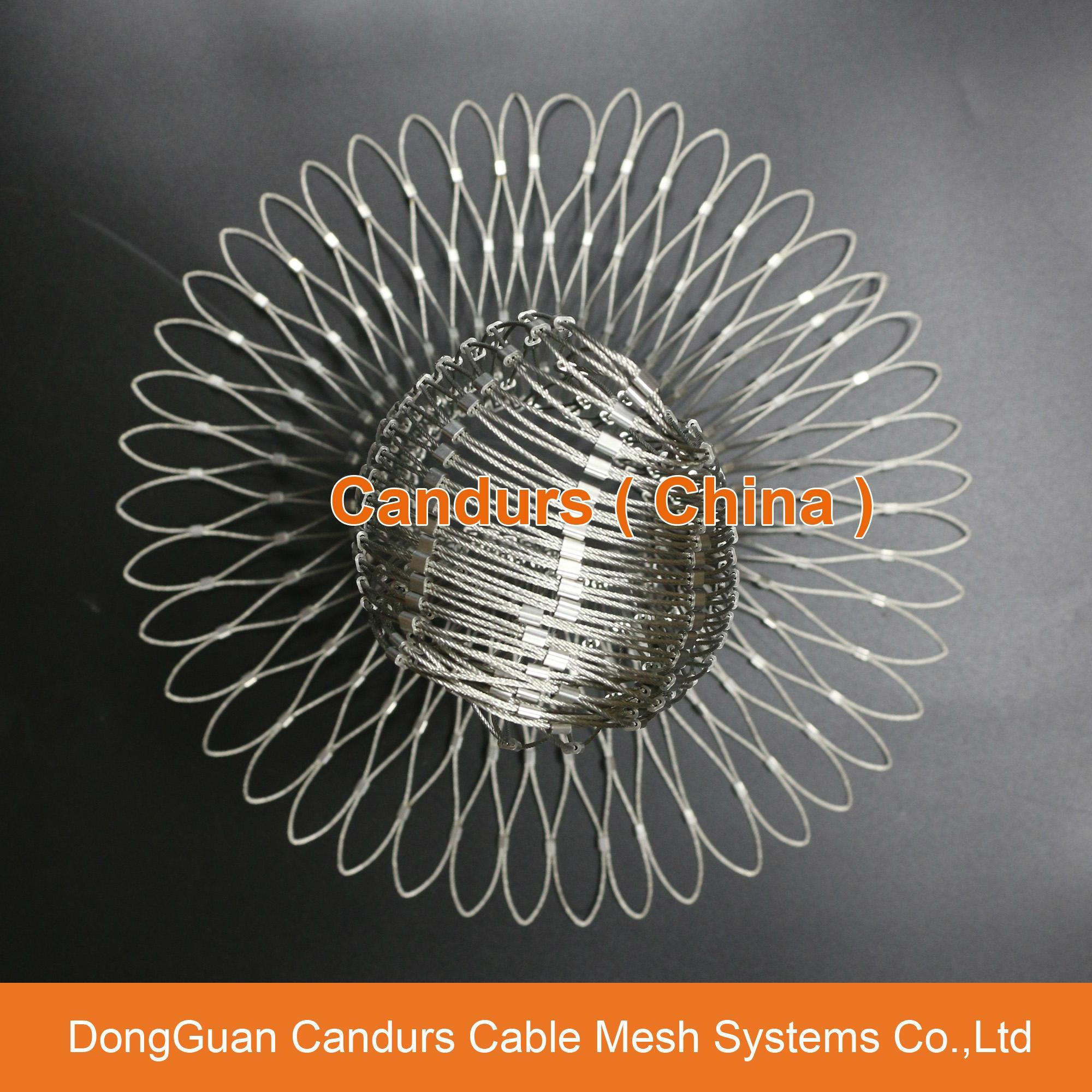昌達不鏽鋼絲繩網——美標316不鏽鋼繩網 19