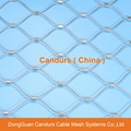 316 Stainless Steel Wire Rope Ferruled Cable Mesh