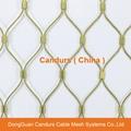 不鏽鋼金屬植物攀爬支撐網 8