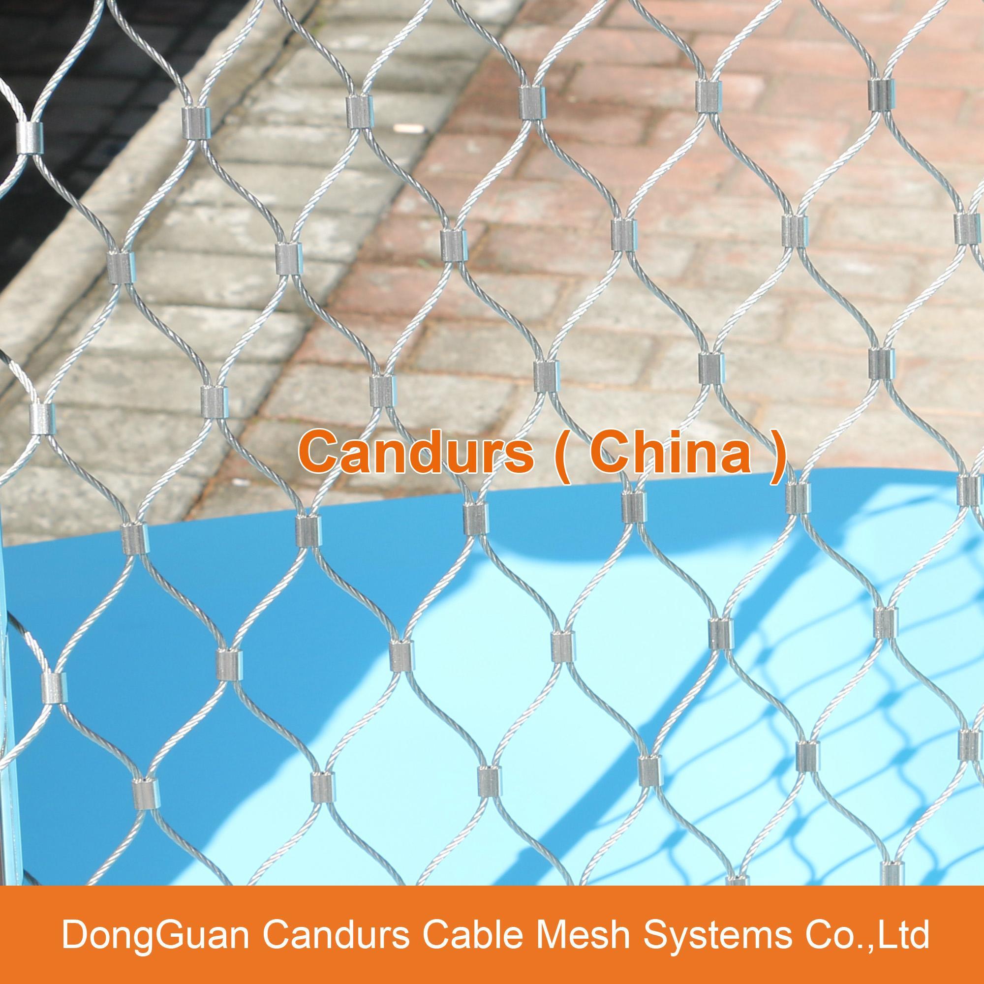 不鏽鋼金屬植物攀爬支撐網 13