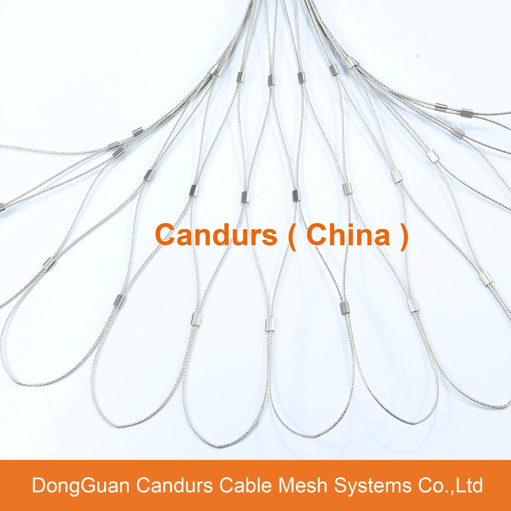 不鏽鋼金屬植物攀爬支撐網 1