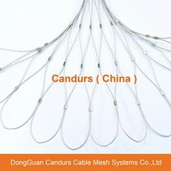 不鏽鋼金屬植物攀爬支撐網