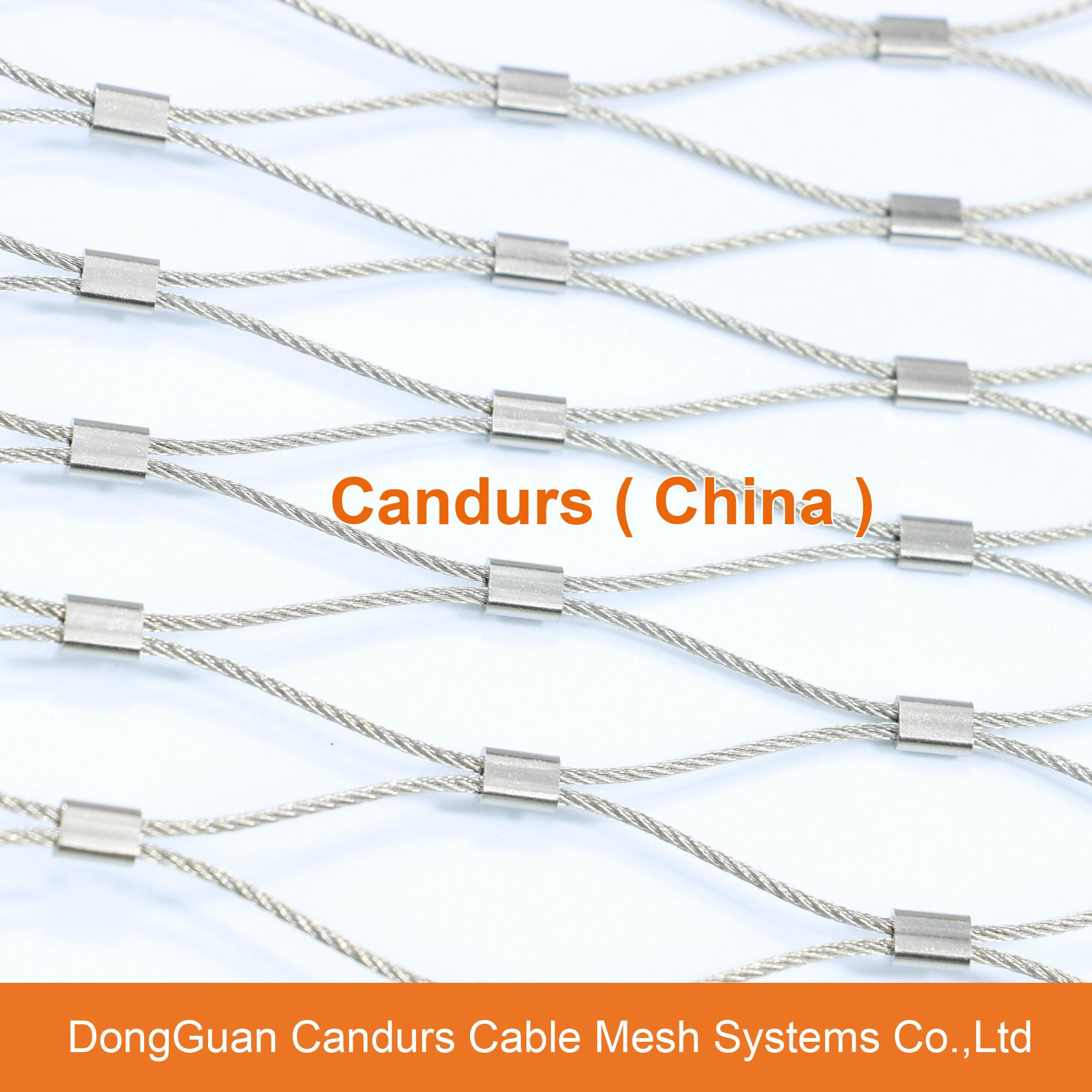 Stainless Steel Wire Product : Metal climbing plant support mesh stainless steel