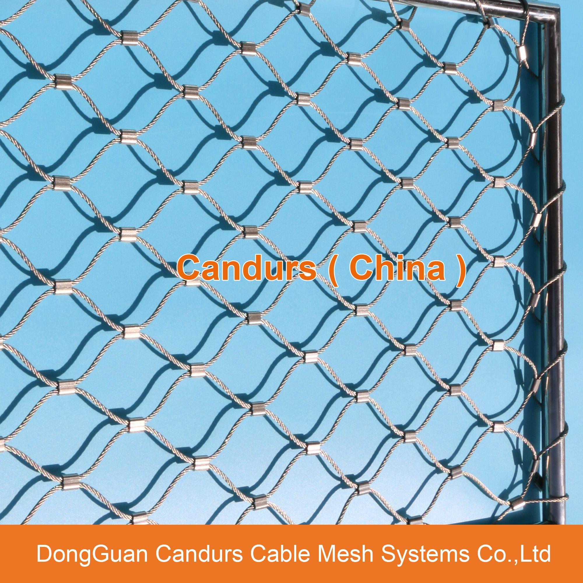 不锈钢金属植物攀爬支撑网 18