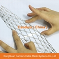 Stainless Steel Zoo  Mesh Fencing