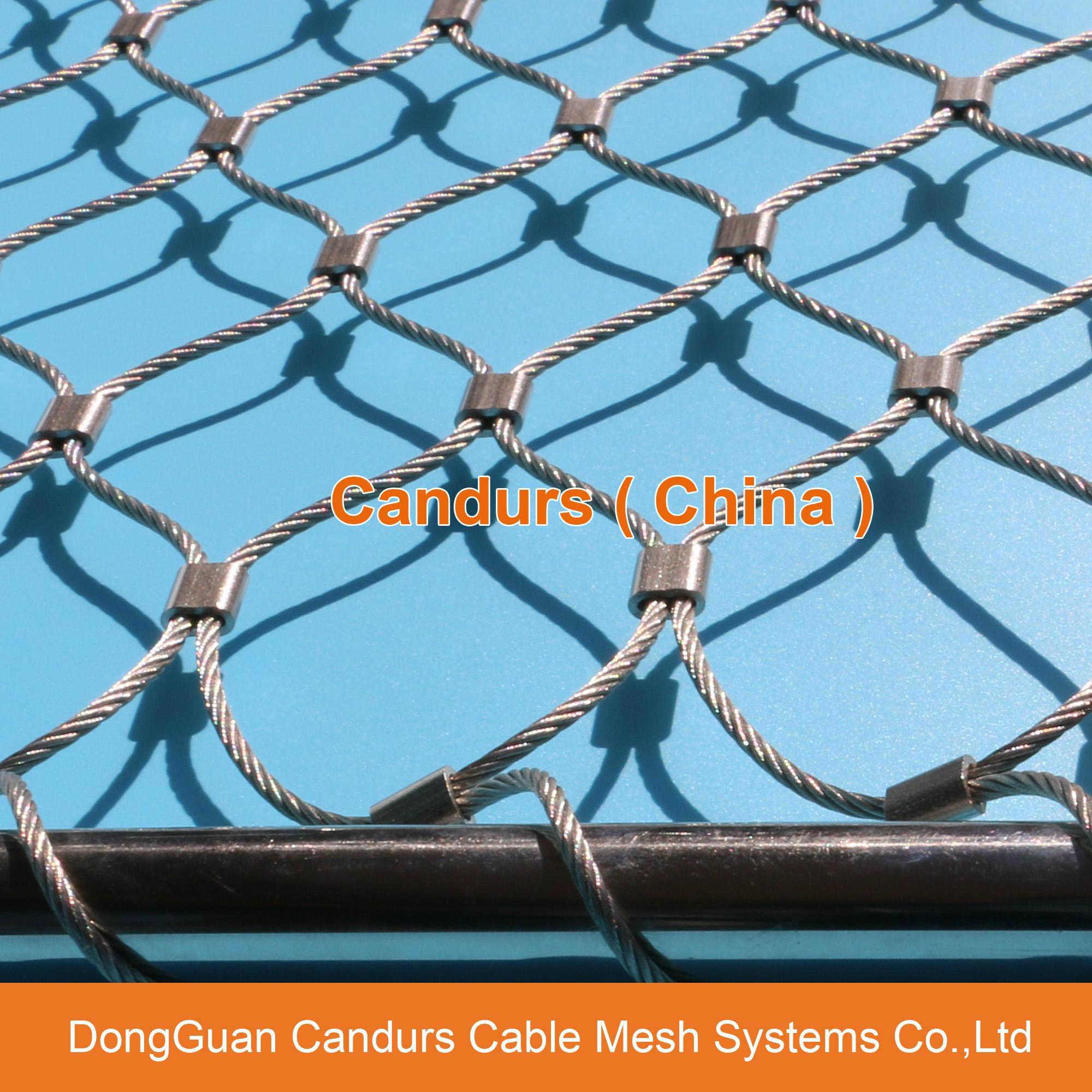 動物園用的不鏽鋼絲繩網 17