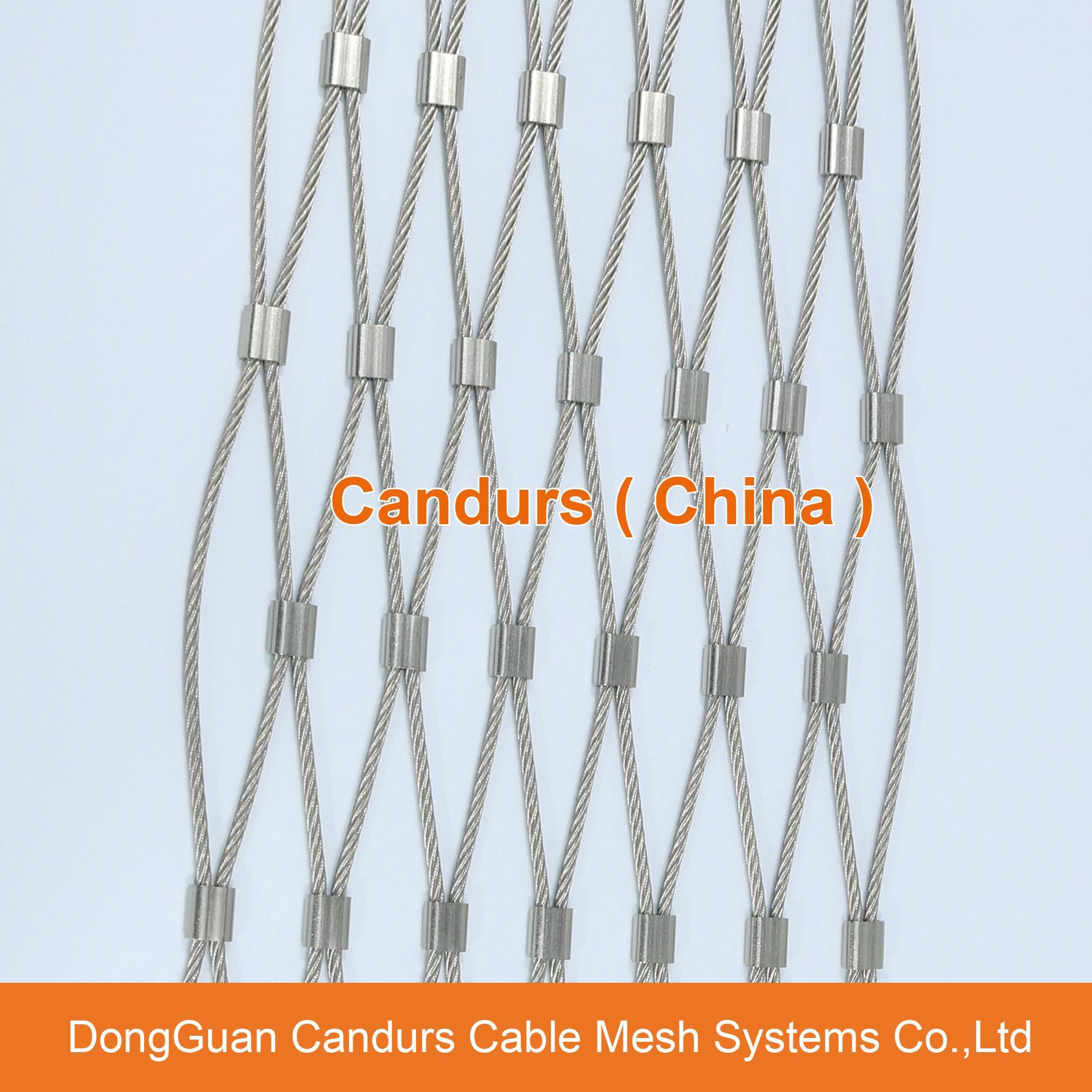 动物园用的不锈钢丝绳网 19