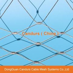 动物园用的不锈钢丝绳网