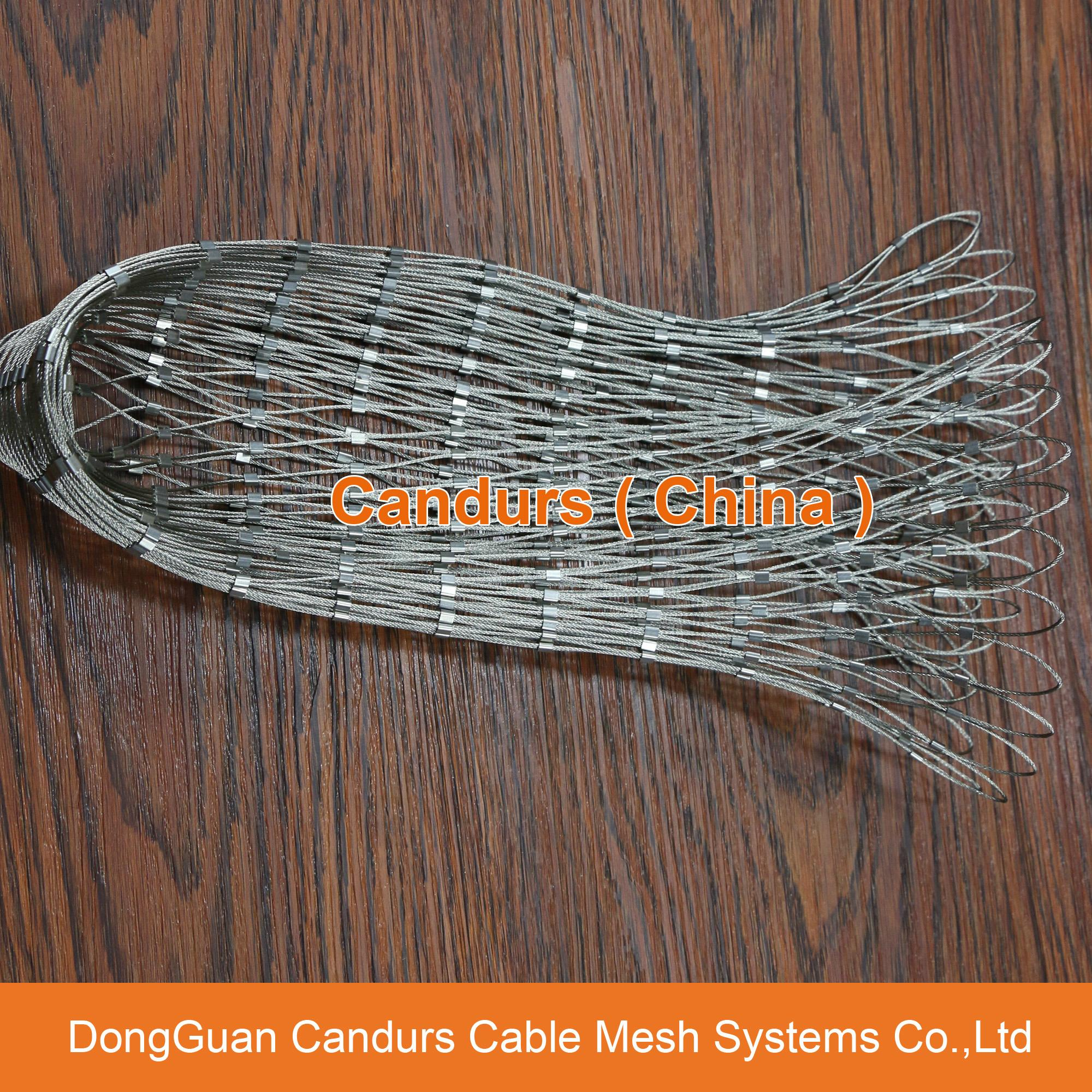 柔性鍍鋅鋼絲繩網 1