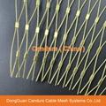 Copper Mesh Grille-Copper Mesh Panel