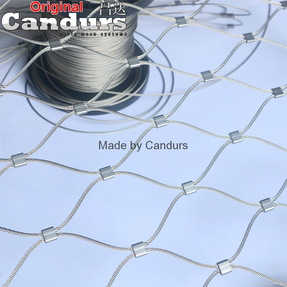 Flexible Stainless Steel Wire Rope Mesh Net 4