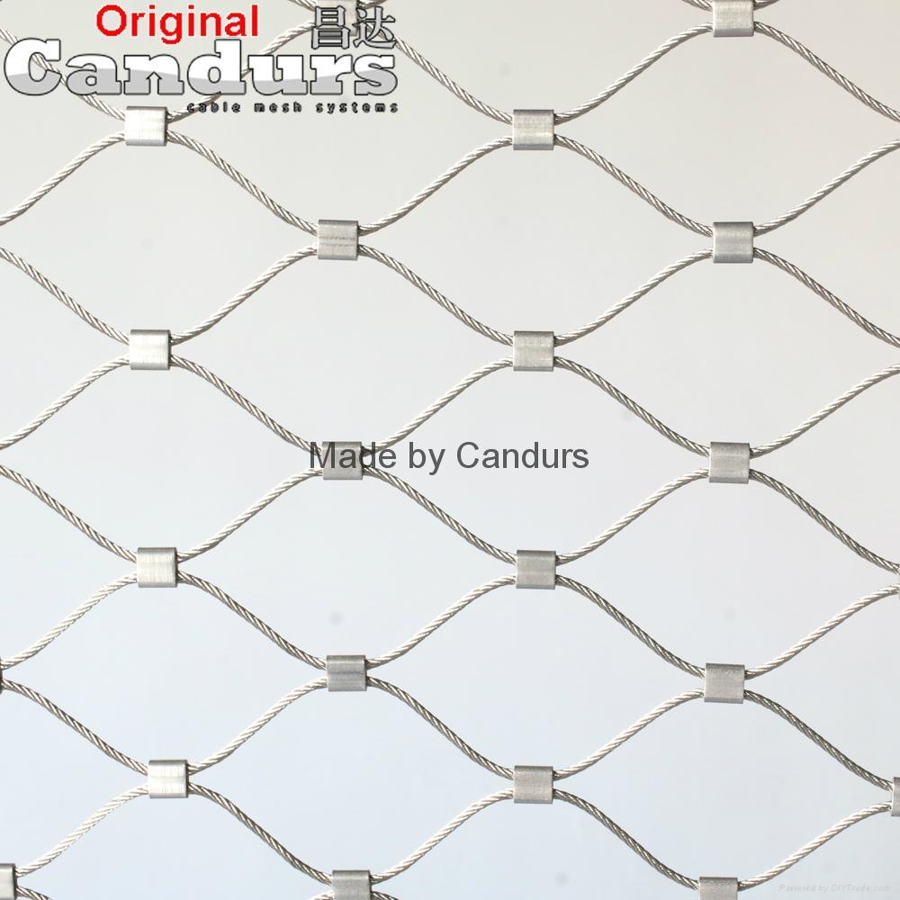 不锈钢绳网-不锈钢扣网 1