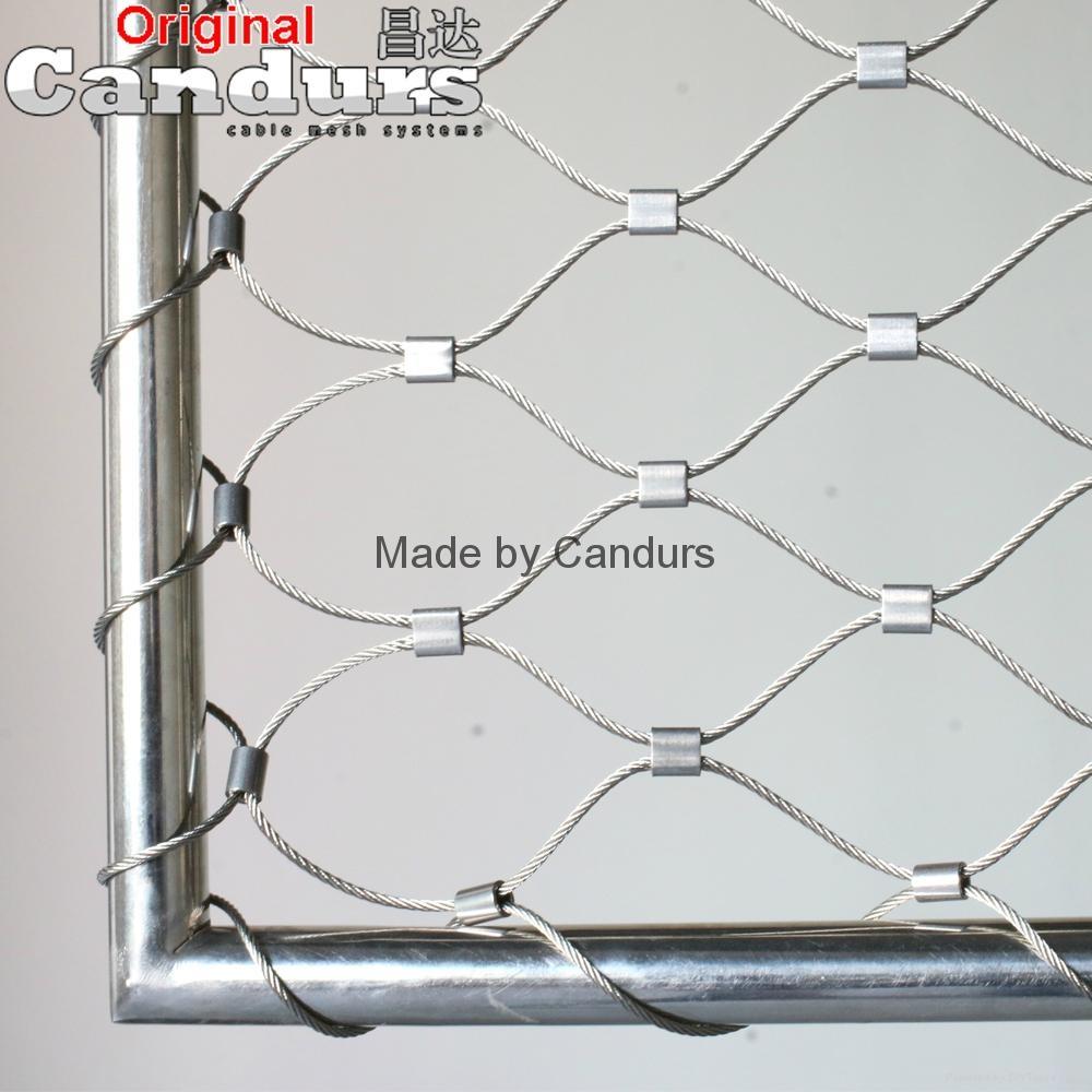 不锈钢绳网-不锈钢扣网 3