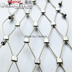 Stainless Steel Wire Rope Mesh(Ferruled Mesh)