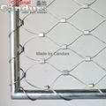 不锈钢丝绳卡扣网 2