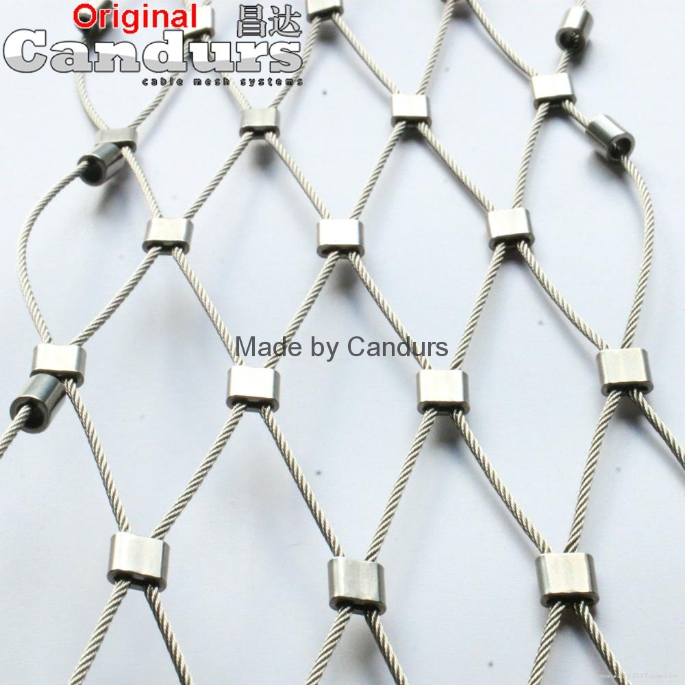 Stainless Steel Wire Rope Ferrule Mesh 5