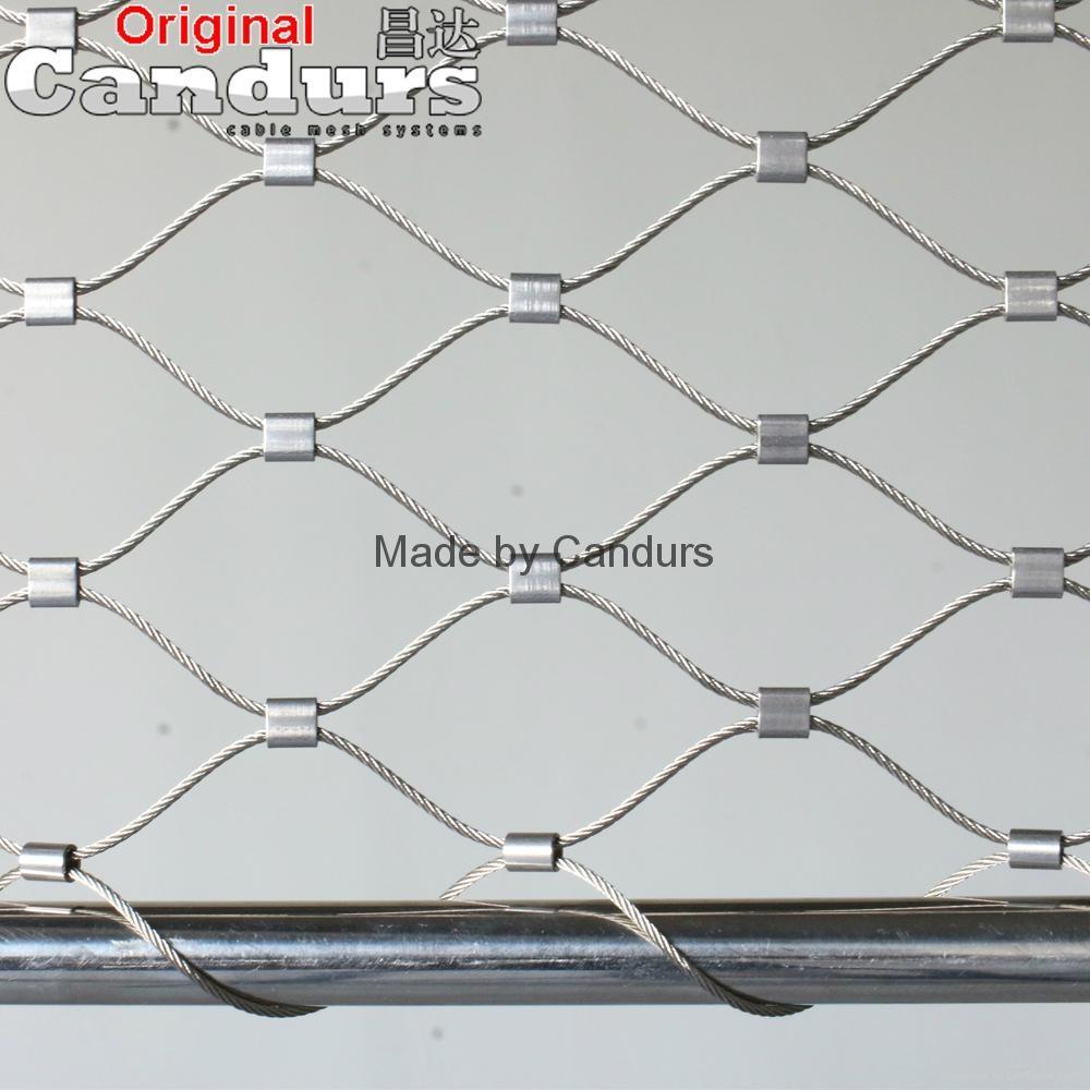 柔性裝飾不鏽鋼絲繩網   1