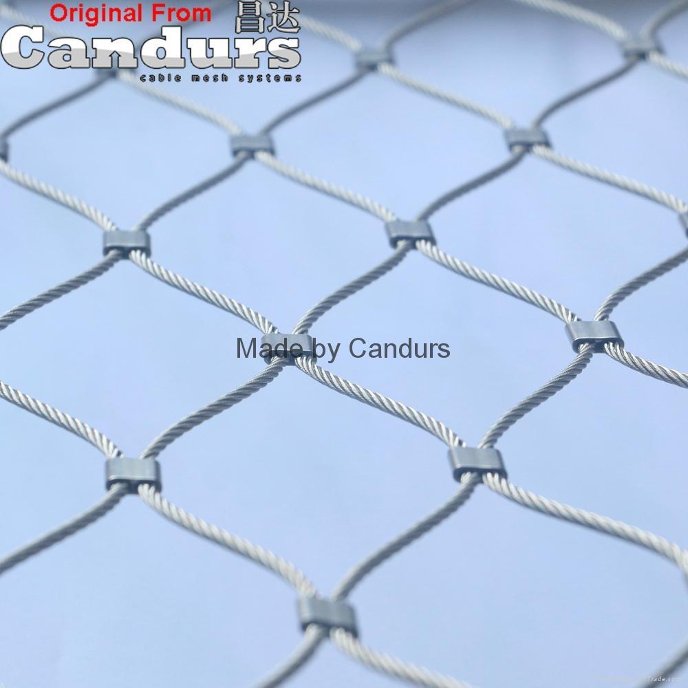 柔性装饰不锈钢丝绳网   4