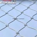 不鏽鋼套環繩網