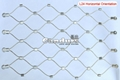 Flexible SS Wire Rope Mesh 2.0mm Cable 50mm Mesh