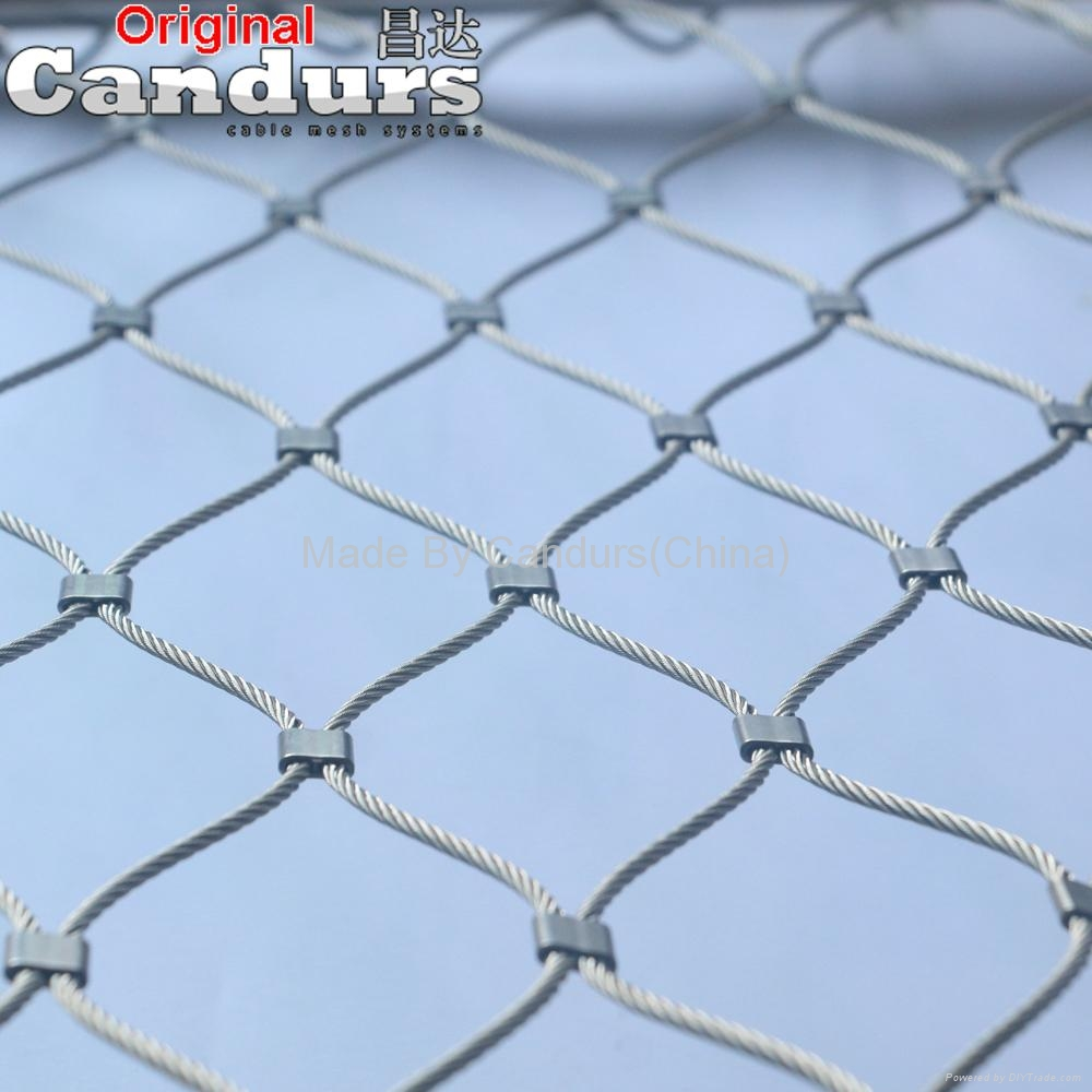 Rope Mesh Safety Net