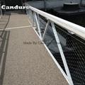 40mm 栏杆楼梯柔性不锈钢丝绳防护网 6