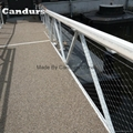 40mm 欄杆樓梯柔性不鏽鋼絲繩防護網 6
