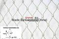 316 Inox Cable Mesh Stainless Steel Rope Bird Aviary Netting In Zoo 3