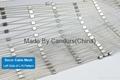 供应压扣型不锈钢菱形防护护栏绳网 2
