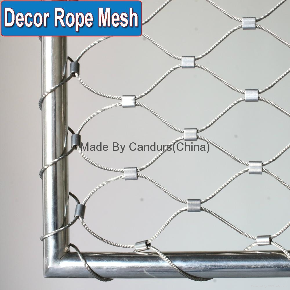 Enchanting Wire Mesh Railing Embellishment - The Wire - magnox.info