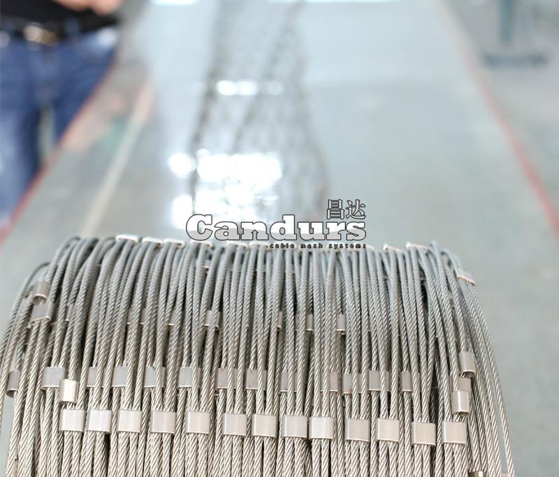 CD1580 鋼套鋼索網
