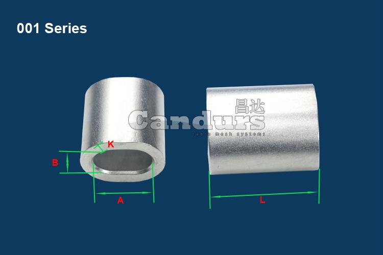 Stainless Steel Wire Rope Ferrule