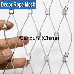 美标316不锈钢绳网装饰网