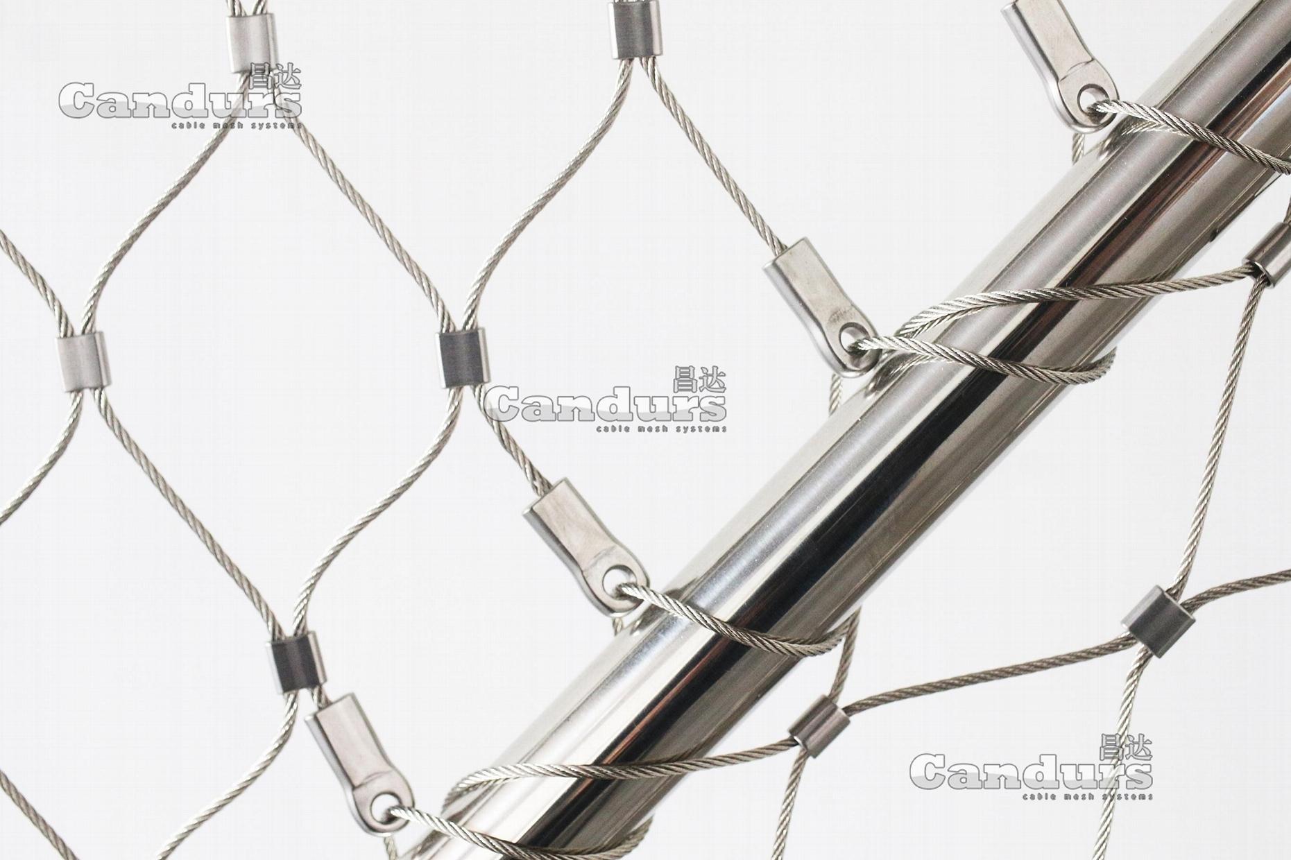 异型不锈钢丝绳网片