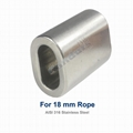 Stainless Steel Cable Crimp Sleeve