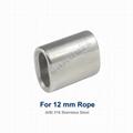12 mm 316 Stanless Steel Crimp Sleeve For Sling
