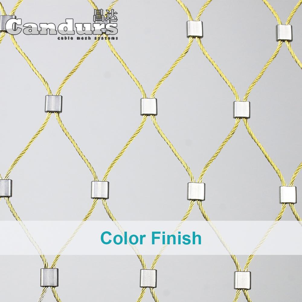 柔性不鏽鋼絲繩網 2