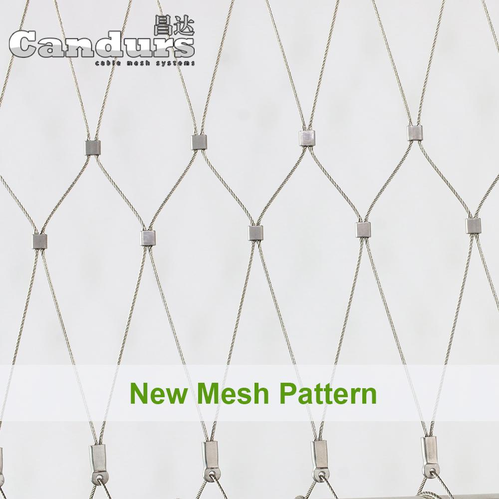 X Tend Flexible Stainless Steel Cable (Rope) Mesh