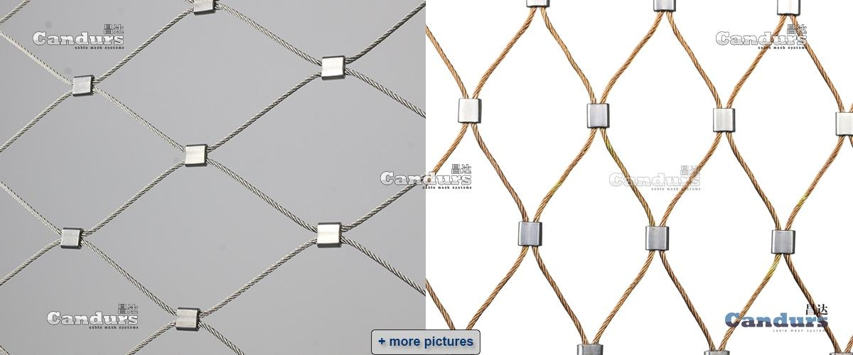 Flexible Stainless Steel Rope Mesh