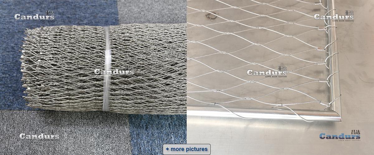 Flexible Woven Rope Mesh