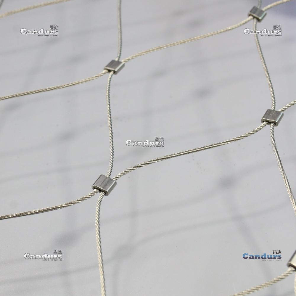 藝朮不鏽鋼絲繩軟網 1